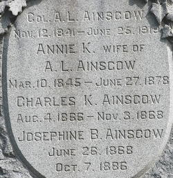 Col. Alfred L. Ainscow