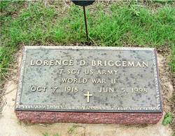 Lorence D Briggeman