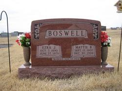 Mattie B <i>Thompson</i> Boswell