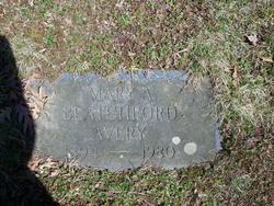 Mary A <i>Blatchford</i> Avery