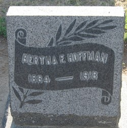 Bertha Florence <i>Sweeney</i> Hoffman