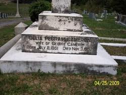 Delia <i>Pegram</i> Cameron