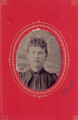 Amelia Charlotte <i>Bagge</i> Comstock