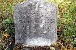 Martha Jane <i>McBee</i> Grubbs