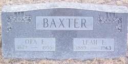Leah Edna <i>Chase</i> Baxter