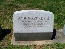 Josiah Marion Abshire