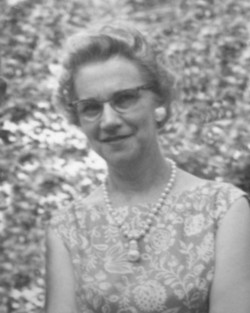 Mrs Gladys Irene <i>Fischer</i> Rhodes Bailey