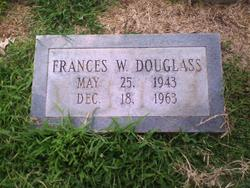 Frances W Douglass