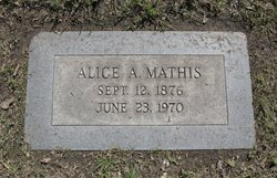 Alice A. Mathis