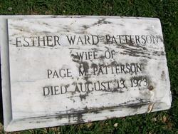 Esther <i>Ward</i> Patterson