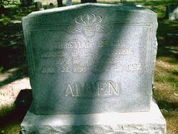 Christian Beulah <i>Edens</i> Allen