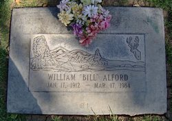 William Edward Bill Alford