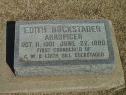 Edith Delores <i>Dockstader</i> Arnspiger