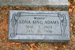 Lona Ann <i>King</i> Adams