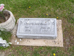 Dorothy Jane <i>Kiser</i> Bagwell