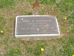 Pvt John W Burkhardt