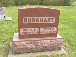 Marie A <i>Klapp</i> Burkhart