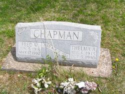 Thelma A <i>Kiser</i> Chapman