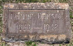 Francis Moore Fanny <i>Mills</i> Denson