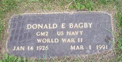 Donald Eugene Bagby