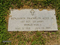 Benjamin Franklin Agee, Jr