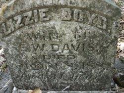Lizzie <i>Boyd</i> Davis