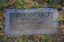 Maie Phoebe Whitney