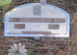 Delia <i>Goff</i> Gaskin