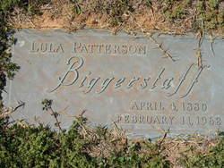 Lula <i>Patterson</i> Biggerstaff