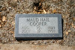 Maud <i>Hail</i> Cooper