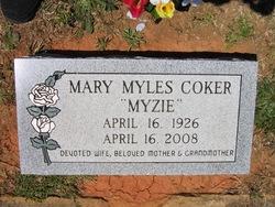 Mary <i>Myles</i> Coker