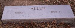 Mary Pearl <i>Palmer</i> Allen
