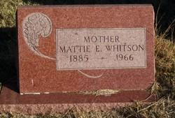 Mattie E Whitson