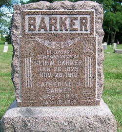 Catherine Boodry <i>Hoar</i> Barker