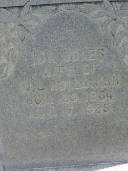 Ida <i>Jones</i> Hollomon