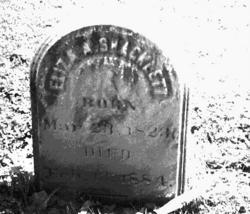 Eliza Ann <i>Percival</i> Shacklette