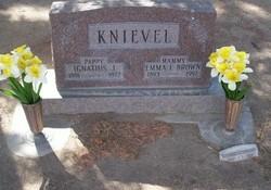 Emma F. Mammy <i>Brown</i> Knievel