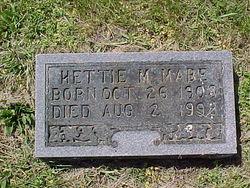 Hettie M. Mabe