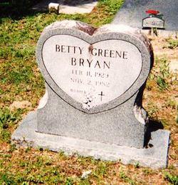 Betty <i>Greene</i> Bryan