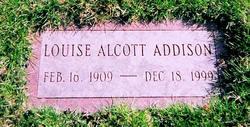 Louise <i>Alcott</i> Addison