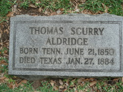 Thomas Scurry Aldridge
