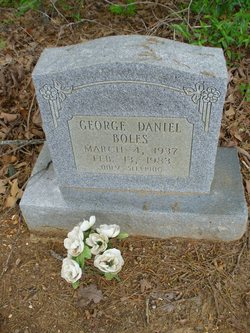 George Daniel Buddy Boles