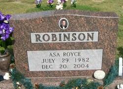 Asa Royce Robinson