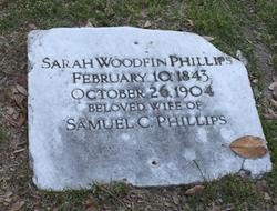 Sarah <i>Woodfin</i> Phillips