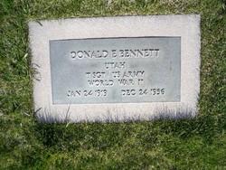 Sgt Donald Earl Bennett