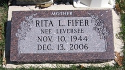 Rita L. <i>Leversee</i> Fifer