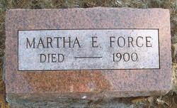 Martha E. <i>Scott</i> Force
