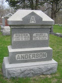 Mary Jane <i>Overmyer</i> Anderson