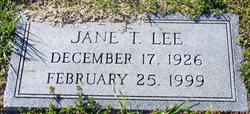 Sara Jane <i>Terry</i> Lee