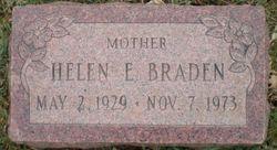 Helen Elizabeth <i>Thomas</i> Braden